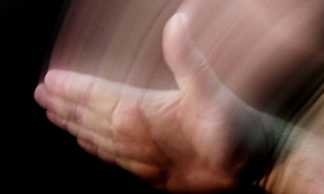 spanking hand