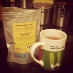 I got a really lovely gift of tea from a…