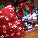 Day 8:  Wrap presents for out of state family