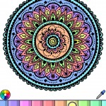 I love this mandala coloring app So soothing