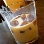 Coffee ice cubes Baileys Vanilla vodka