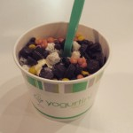 Sometimes the only answer is yogurtini for dinner.