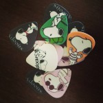 New guitar picks!! I was feeling down one day sohellip